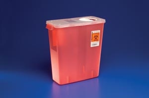 Kendall SharpsSafety Sharps Container 3 Gallon