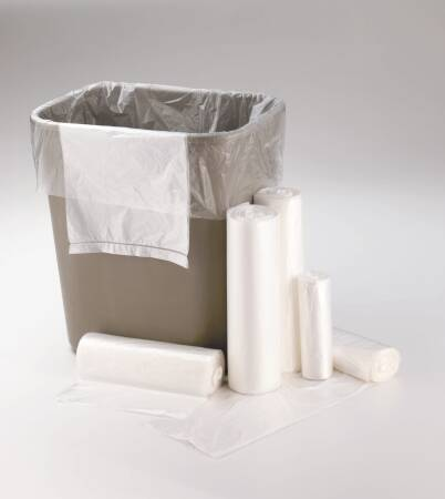 Medegen Polyethylene Clear Can Liners Garbage Bags 12-16 Gal 1000/cs