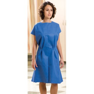 "Graham Medical Blue Gowns 30"" X 42"" 50/bx"