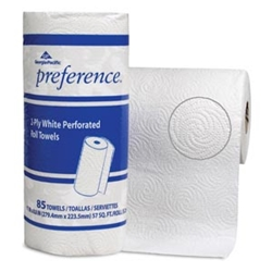 Georgia Pacific Preference 2-Ply Perforated Roll Paper Towels, 80 Sheets per roll