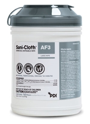 PDI Sani-Cloth AF3 Germicidal Disposable Wipe, Large 160/Can